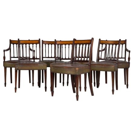 Set of 8 George III Dining Chairs CH2810638