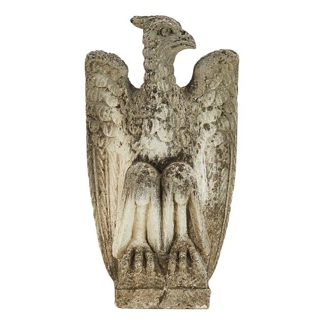 1940s Carved Stone Eagle DA0661423