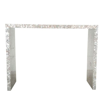 Mother of Pearl Console Table CO7260783