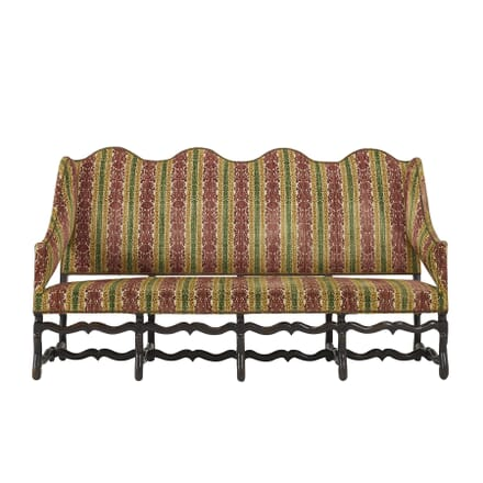 18th Century Os de Mouton French Walnut Sofa SB067407