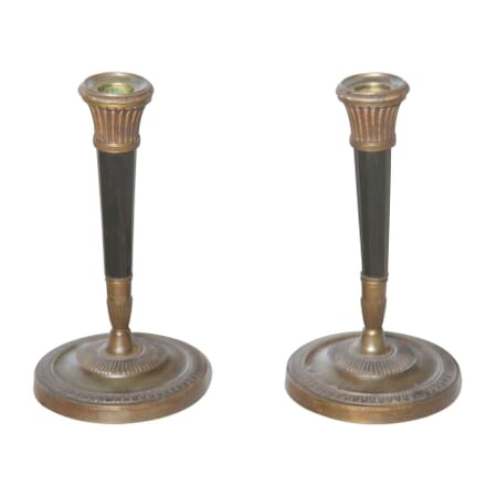 Pair of Bronze Directoire Candlesticks DA2355118
