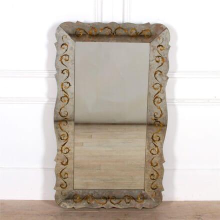 Eglomise Decorated Mirror MI307464