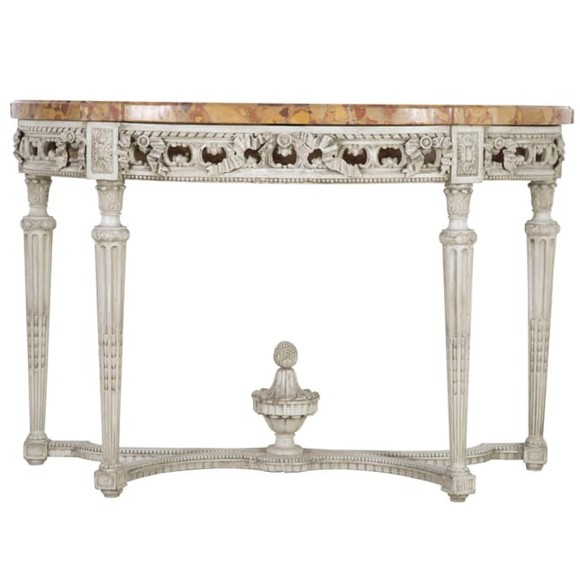 French 19th Century Demi Lune Console CO4311149