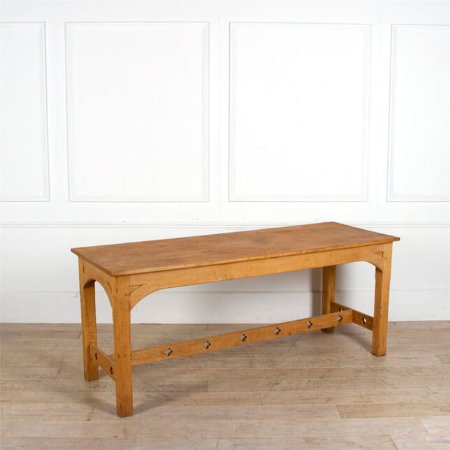 Gothic Oak Dining Table TD287283