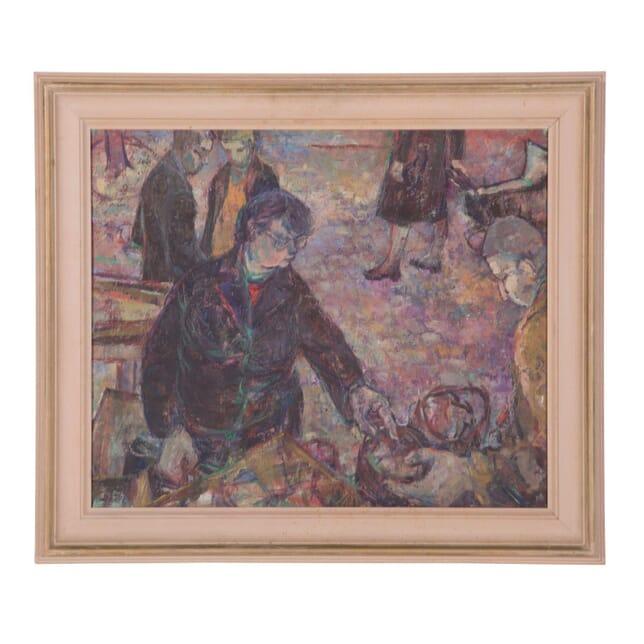 Oil on Board by Jean Lunn WD3558619