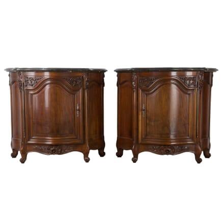 Pair of 19th Century French Walnut Buffets BU5260692