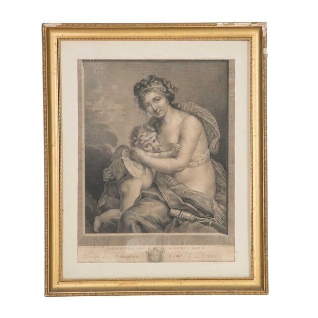 Framed Engraving WD5558045
