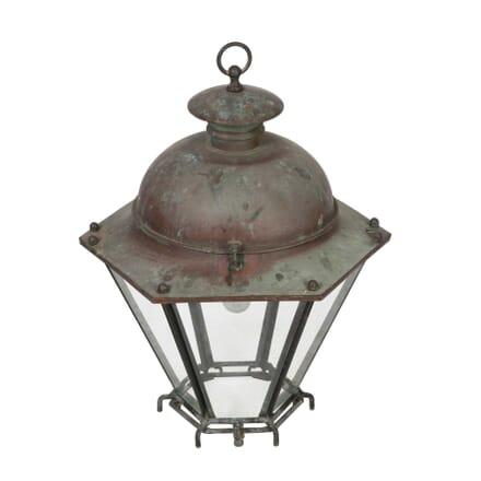 19th Century Copper Lantern LL5558007
