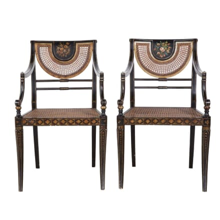 Pair of Regency Style Armchairs CH5257902