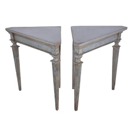 Pair of 19th Century Swedish Corner Tables CO7359905