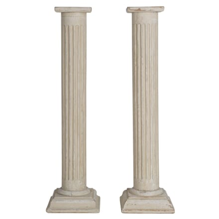Pair Of Reeded Columns DA154184