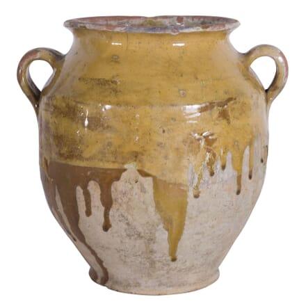 Yellow Confit Pot DA7160125