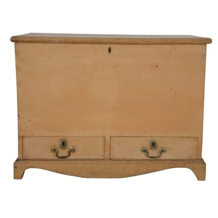 Early 19th Century Original Painted Pine Mule Chest CC0960622