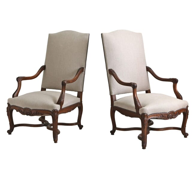 Pair of Regence Style Armchairs CH1254403