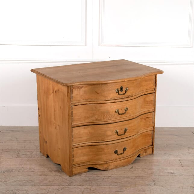Serpentine Pine Chest of Drawers CC1662241