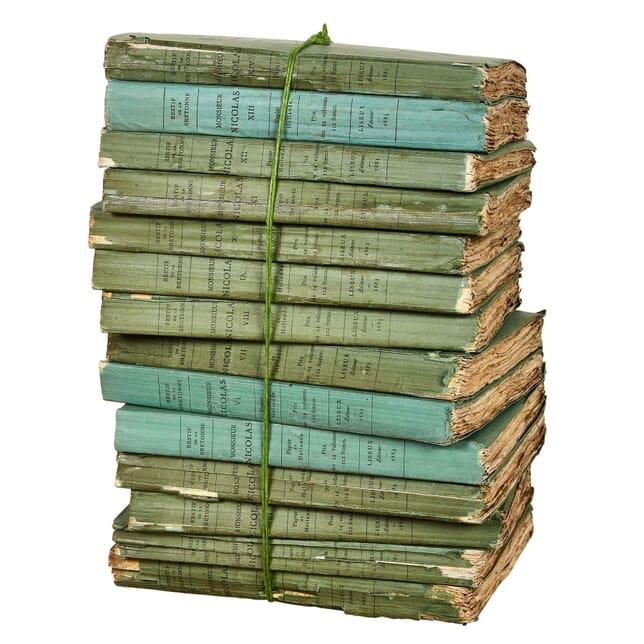 Set of French 19th Century Books DA4454539