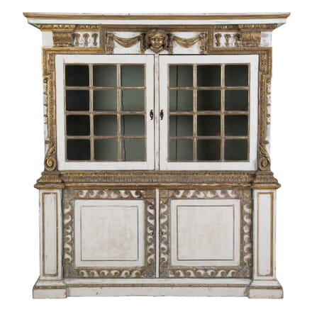 English 19th Century Painted Cupboard CU4154784