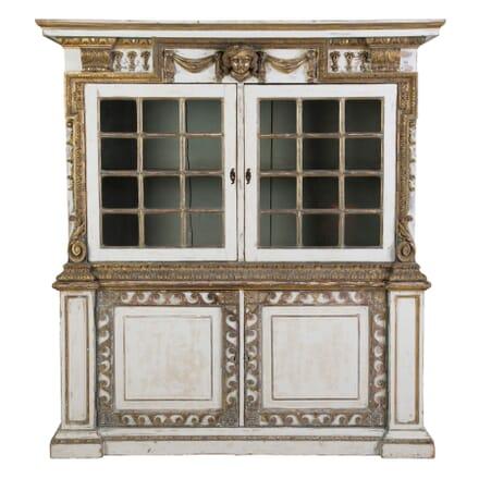 English 19th Century Painted Cupboard CU4154784