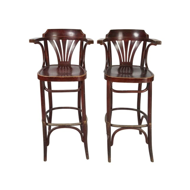 Pair of Bentwood Bar Stools ST5557732