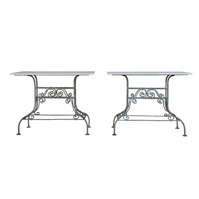 Pair of French Iron Consoles CO1556464