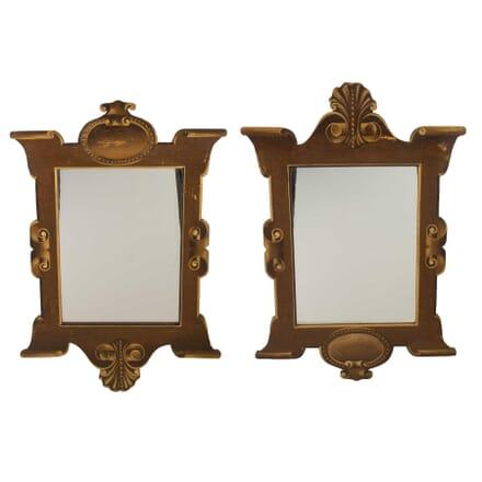 Decorative Pair of Trompe L'Oeil Mirrors MI6057445