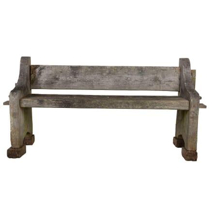 Oak Garden Bench GA0512248