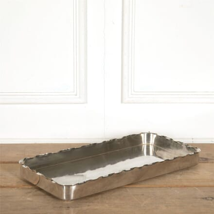 Large Silverplate Tray by Galandet DA157723