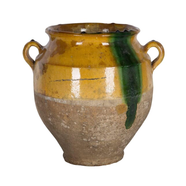 Large Yellow Confit Jar DA4458642