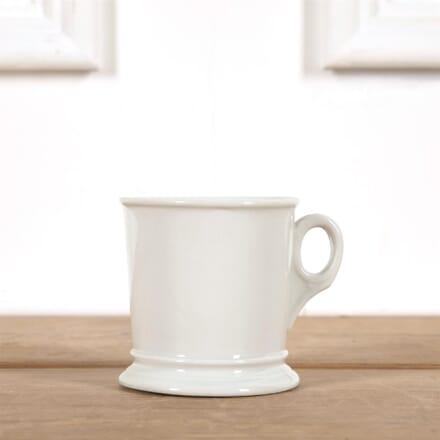 White French Porcelian Mug with Handle DA4461555