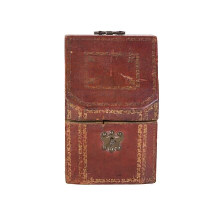 Moroccan Leather Stationary Box DA2954420