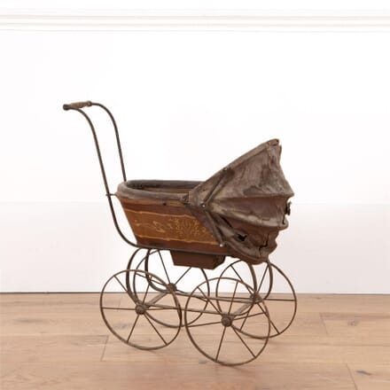 19th Century French Doll's Pram DA0154702