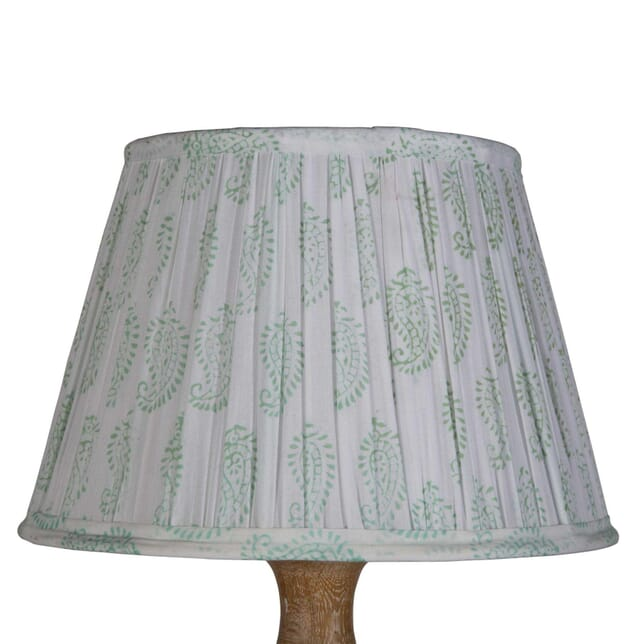 30cm Green And White Lampshade LS6657877