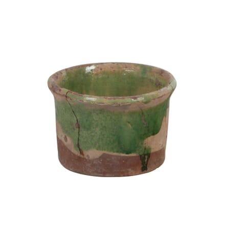 Small Green Glazed Pot DA014983