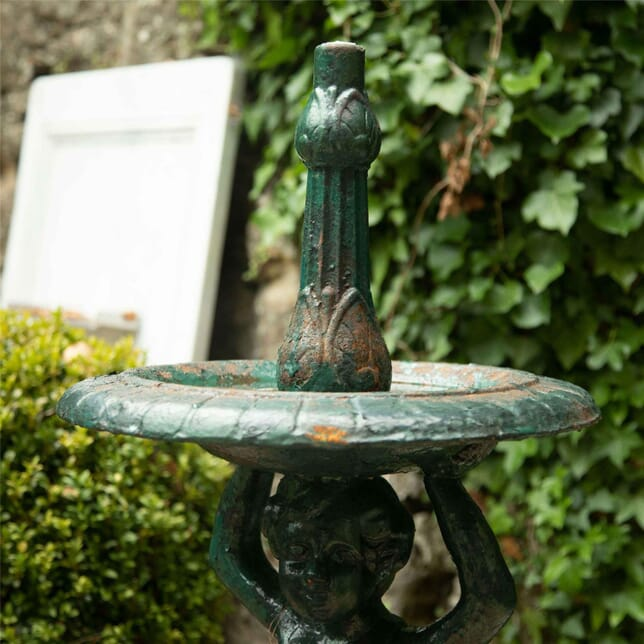 19th Century Cast Iron Two Tier Fountain GA4262483