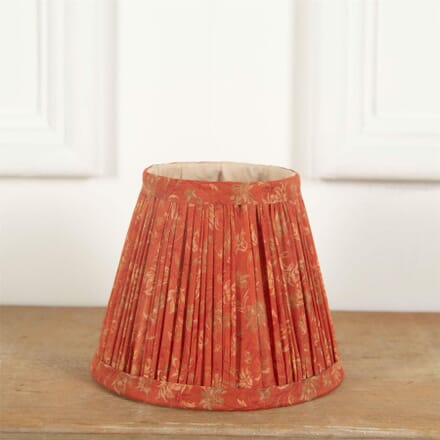 15cm Orange Silk Lampshade LS6661384