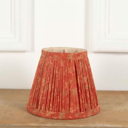 15cm Orange Silk Lampshade LS6661384