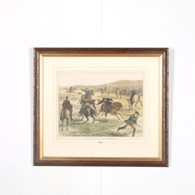 Officers Playing Polo - 1872 WD287569