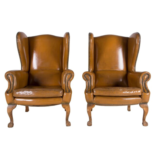 Tan Wingback Chairs CH6260707