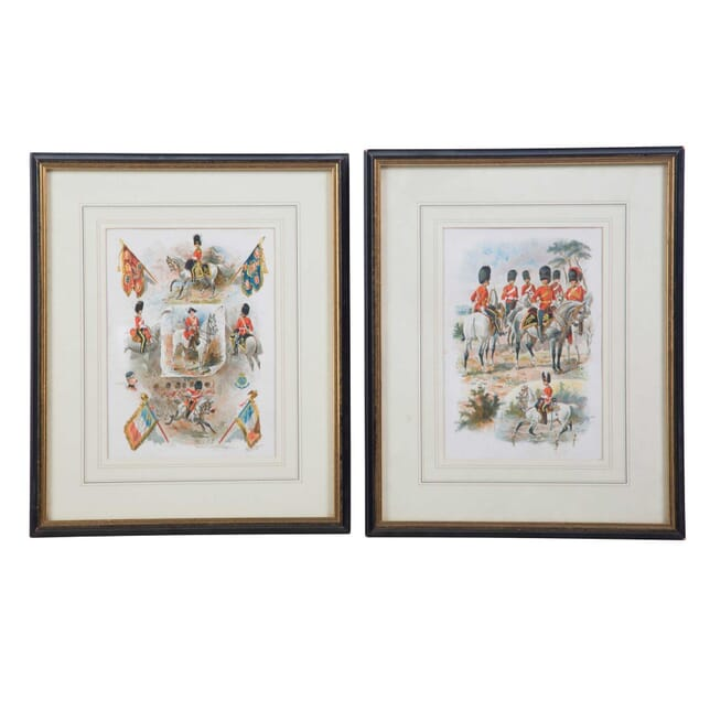 Two Military Prints by Harry Payne WD2855300