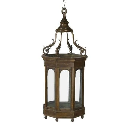 20th Century Bronze Lantern LL5456702