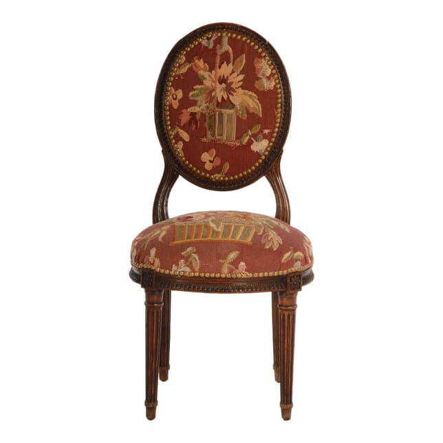 19th Century Upholstered Child's Chair CH151355