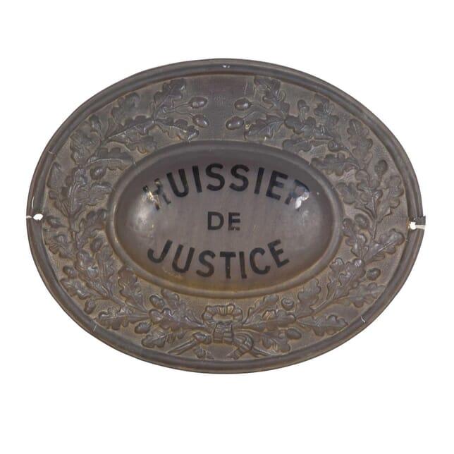 Hussier de Justice Sign WD1511228