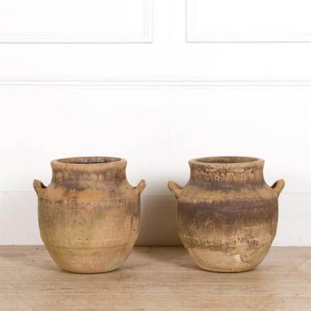 Pair of 20th Century Handelled Pots/Urns GA287385