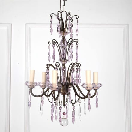 Venetian 1930's Six Branch Chandelier LC2162111