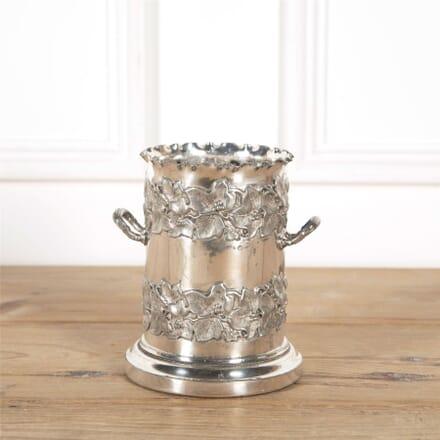 Victorian Silver Plated Sypho Wine Coaster DA5862034