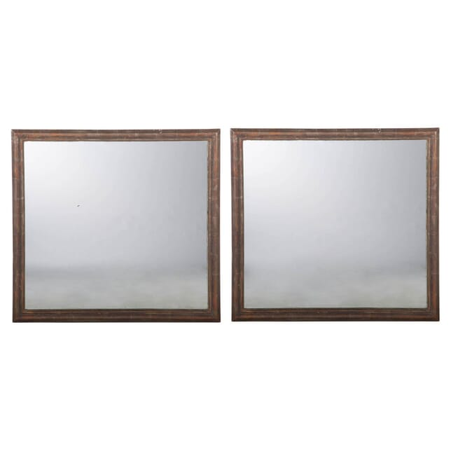 Pair of French Silvered Mirrors MI233855