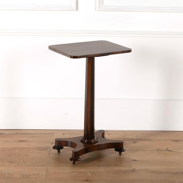 19th Century Rosewood Signle Column Wine Table TD6261949