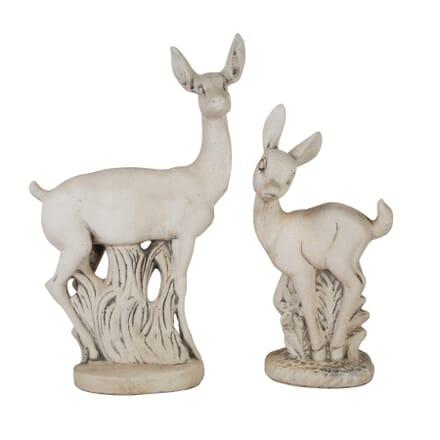 Deer & Fawn Garden Statues GA1560389