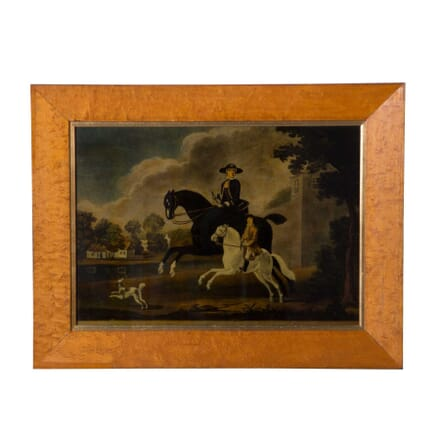19th Century Reverse Glass Painting WD6858977
