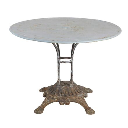 French Round Iron Table GA4455331